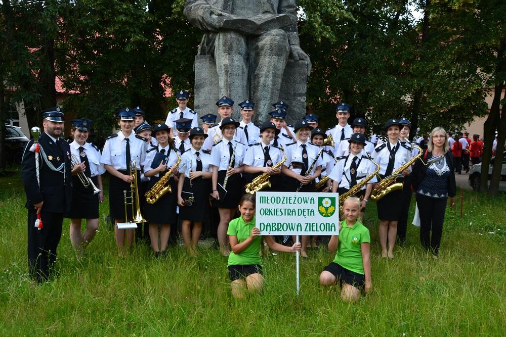 Młodzieżowa Orkiestra Dęta wDąbrowie Zielonej