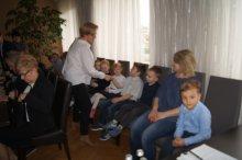 Dzieci zGminnego Przedszkola na Sesji Rady Gminy