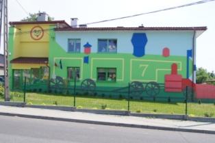 Zdjęcie Gminnego Przedszkola wDąbrowie Zielonej