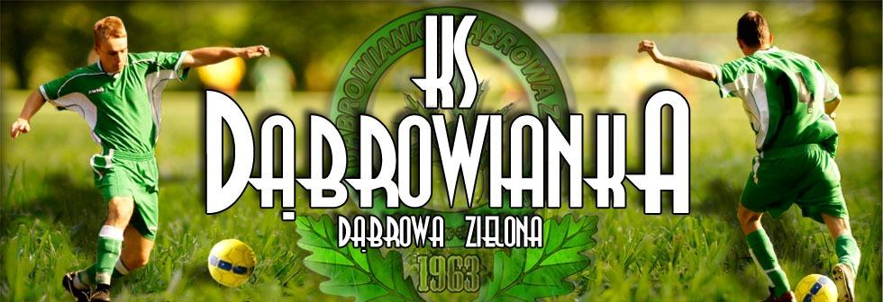Logo Klubu Sportowego Dąbrowianka