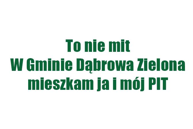 Szanowni Mieszkańcy Gminy Dąbrowa Zielona!